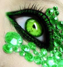 jealous eye